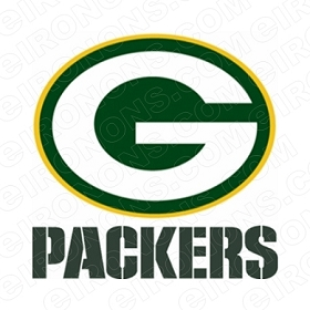 GREEN BAY PACKERS G AND GREEN LOGO SPORTS NFL FOOTBALL T-SHIRT IRON-ON TRANSFER DECAL #GBP9