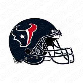 HOUSTON TEXANS HELMET LOGO SPORTS NFL FOOTBALL T-SHIRT IRON-ON TRANSFER DECAL #SFHT1