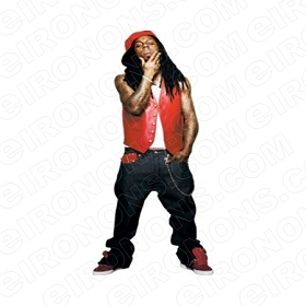 LIL WAYNE THINKING MUSIC T-SHIRT IRON-ON TRANSFER DECAL #MLW3