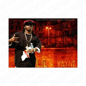 LIL WAYNE WAT UP MUSIC T-SHIRT IRON-ON TRANSFER DECAL #MLW4
