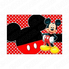 MICKEY MOUSE BLANK EDITABLE INVITATION INSTANT DOWNLOAD #IMM3