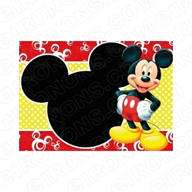 MICKEY MOUSE BLANK EDITABLE INVITATION INSTANT DOWNLOAD #IMM7