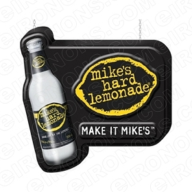 MIKE'S HARD LEMONADE LOGO ALCOHOL T-SHIRT IRON-ON TRANSFER DECAL #AMHLL1