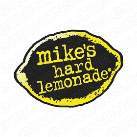MIKE'S HARD LEMONADE LOGO ALCOHOL T-SHIRT IRON-ON TRANSFER DECAL #AMHLL2