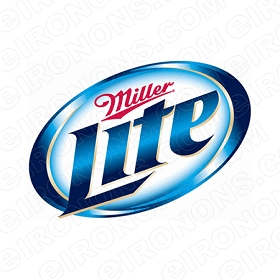 MILLER LITE LOGO ALCOHOL T-SHIRT IRON-ON TRANSFER DECAL #AML1