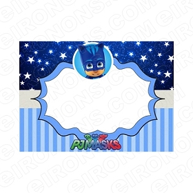 PJ MASKS BLANK EDITABLE INVITATION INSTANT DOWNLOAD #IPJM2