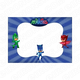 PJ MASKS BLANK EDITABLE INVITATION INSTANT DOWNLOAD #IPJM5