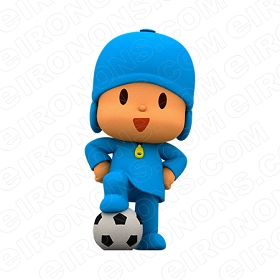 POCOYO BALL CHARACTER T-SHIRT IRON-ON TRANSFER DECAL #CP2