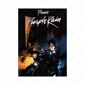 PRINCE PURPLE RAIN MUSIC T-SHIRT IRON-ON TRANSFER DECAL #MP6