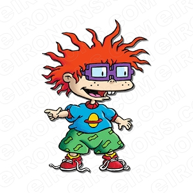 RUGRATS CHUCKIE STANDING CHARACTER T-SHIRT IRON-ON TRANSFER DECAL #CRR5