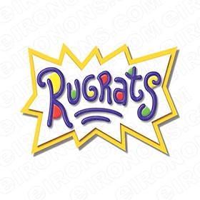 RUGRATS LOGO CHARACTER T-SHIRT IRON-ON TRANSFER DECAL #CRR10