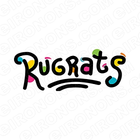 RUGRATS LOGO CHARACTER T-SHIRT IRON-ON TRANSFER DECAL #CRR9