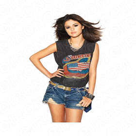 SELENA GOMEZ IM WAITING MUSIC T-SHIRT IRON-ON TRANSFER DECAL #MSG6