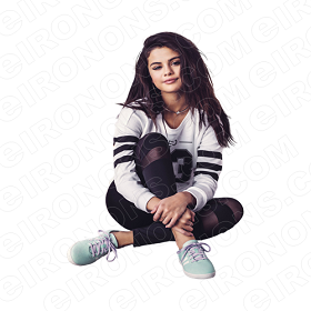 SELENA GOMEZ SITTING MUSIC T-SHIRT IRON-ON TRANSFER DECAL #MSG9
