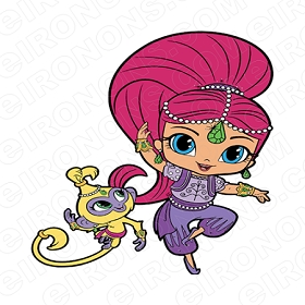 SHIMMER AND SHINE TALA CHARACTER T-SHIRT IRON-ON TRANSFER DECAL #CSAS10