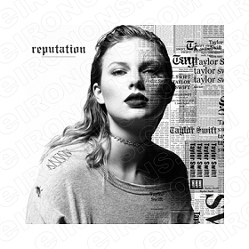 TAYLOR SWIFT REPUTATION MUSIC T-SHIRT IRON-ON TRANSFER DECAL #MTS16