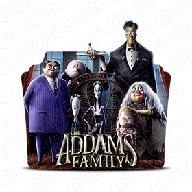 THE ADDAMS FAMILY GROUP POSE 2 MOVIE TV T-SHIRT IRON-ON TRANSFER DECAL #MTVAF7