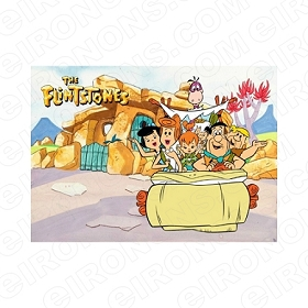 THE FLINTSTONES BLANK EDITABLE INVITATION INSTANT DOWNLOAD #ITF2