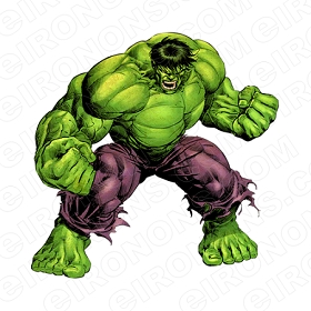 THE INCREDIBLE HULK MAD COMIC T-SHIRT IRON-ON TRANSFER DECAL #CTIH6