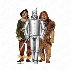 THE WIZARD OF OZ GROUP POSE 3 MOVIE T-SHIRT IRON-ON TRANSFER DECAL #MWOO4