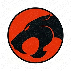 THUNDERCATS LOGO COMIC T-SHIRT IRON-ON TRANSFER DECAL #CTC9
