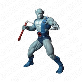 THUNDERCATS PANTHRO READY COMIC T-SHIRT IRON-ON TRANSFER DECAL #CTC13
