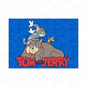 TOM & JERRY DANCING CHARACTER T-SHIRT IRON-ON TRANSFER DECAL #CTJ9