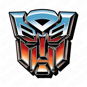TRANSFORMERS LOGO AUTOBOTS TV T-SHIRT IRON-ON TRANSFER DECAL #TVTS4