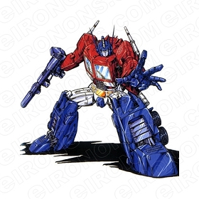 TRANSFORMERS OPTIMUS PRIME REACHING OUT AUTOBOTS TV T-SHIRT IRON-ON TRANSFER DECAL #TVTS10