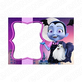 VAMPIRINA BLANK EDITABLE INVITATION INSTANT DOWNLOAD #IV1