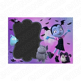 VAMPIRINA BLANK EDITABLE INVITATION INSTANT DOWNLOAD #IV2
