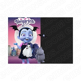 VAMPIRINA BLANK EDITABLE INVITATION INSTANT DOWNLOAD #IV3