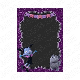 VAMPIRINA BLANK EDITABLE INVITATION INSTANT DOWNLOAD #IV4
