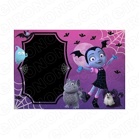 VAMPIRINA BLANK EDITABLE INVITATION INSTANT DOWNLOAD #IV5