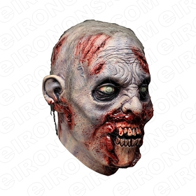 ZOMBIE BIG HEAD HALLOWEEN T-SHIRT IRON-ON TRANSFER DECAL #HZBH1