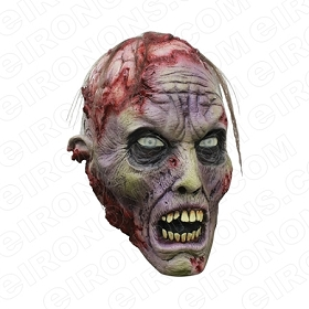 ZOMBIE BRAINS BIG HEAD HALLOWEEN T-SHIRT IRON-ON TRANSFER DECAL #HZBH2
