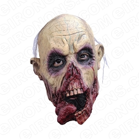 ZOMBIE TONGUE BIG HEAD HALLOWEEN T-SHIRT IRON-ON TRANSFER DECAL #HZBH9