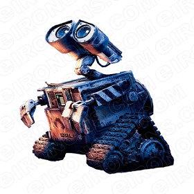 WALL-E LOOKING UP MOVIE TV T-SHIRT IRON-ON TRANSFER DECAL #WE5