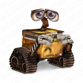 WALL-E SAD MOVIE TV T-SHIRT IRON-ON TRANSFER DECAL #WE6