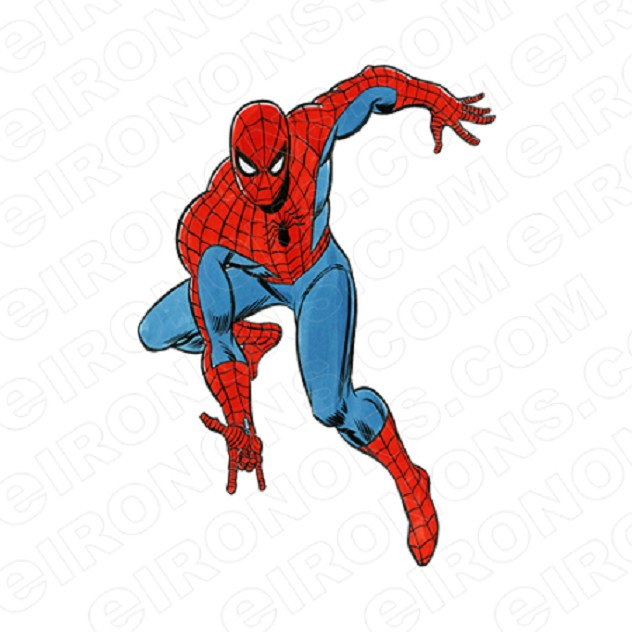 SPIDER-MAN READY COMIC T-SHIRT IRON-ON TRANSFER DECAL #CSM11
