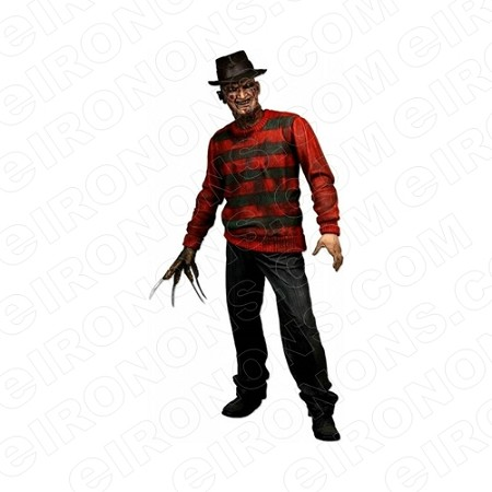 A NIGHTMARE ON ELM STREET FREDDY KRUEGER READY MOVIE T-SHIRT IRON-ON TRANSFER DECAL #NMOES5