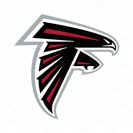 Atlanta Falcons Logo Sports Nfl Football T Shirt Iron On Transfer