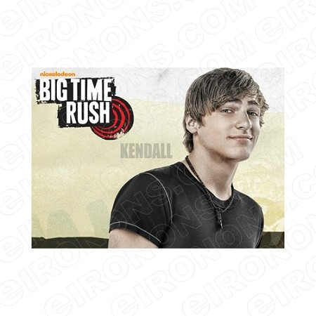 BIG TIME RUSH KENDALL MUSIC T-SHIRT IRON-ON TRANSFER DECAL #MBTR10