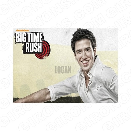 BIG TIME RUSH LOGAN MUSIC T-SHIRT IRON-ON TRANSFER DECAL #MBTR11