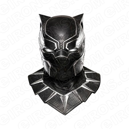 BLACK PANTHER HEAD SHOT COMIC T-SHIRT IRON-ON TRANSFER DECAL #CBP4
