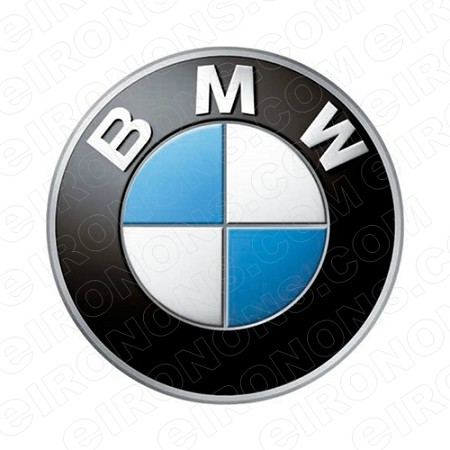 BMW LOGO AUTO T-SHIRT IRON-ON TRANSFER DECAL #ABMW1