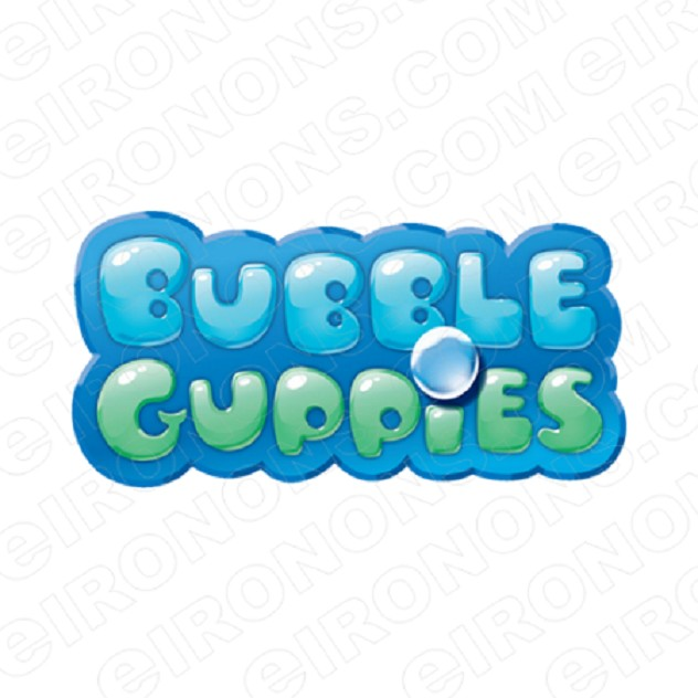BUBBLE GUPPIES DIGITAL LOGO CLIPART PNG IMAGE SCRAPBOOK INSTANT DOWNLOAD