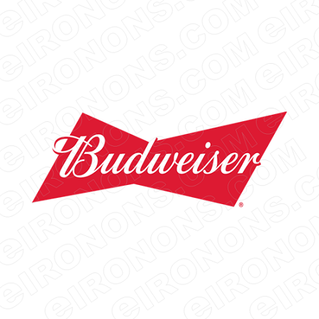 BUDWEISER LOGO ALCOHOL CLIPART PNG IMAGE SCRAPBOOK INSTANT DOWNLOAD