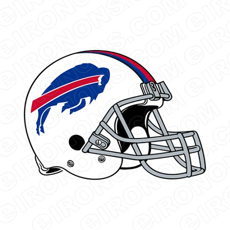 BUFFALO BILLS HELMET LOGO SPORTS NFL FOOTBALL T-SHIRT IRON-ON TRANSFER DECAL #SFBB2