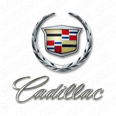 CADILLAC LOGO AUTO T-SHIRT IRON-ON TRANSFER DECAL #ACL1
